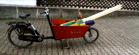 Bed onna Bakfiets