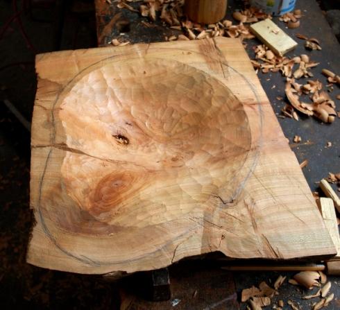 Carved bowl 002